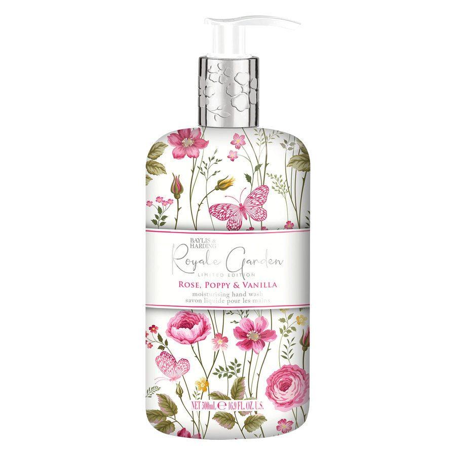 Baylis & Harding Royale Garden Rose, Poppy & Vanilla Hand Wash 500 ml