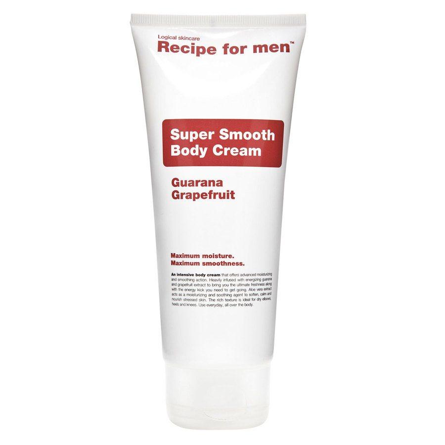 Recipe For Men Super Smooth Body Cream 200 ml