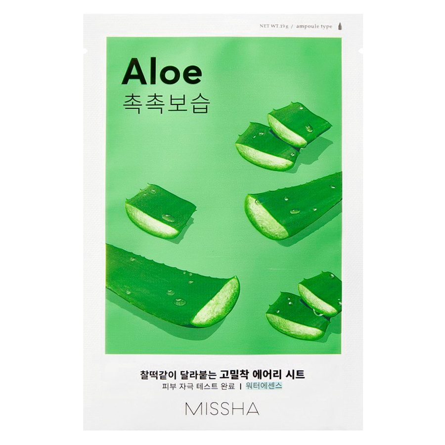 Missha Airy Fit Sheet Mask Aloe 19 g