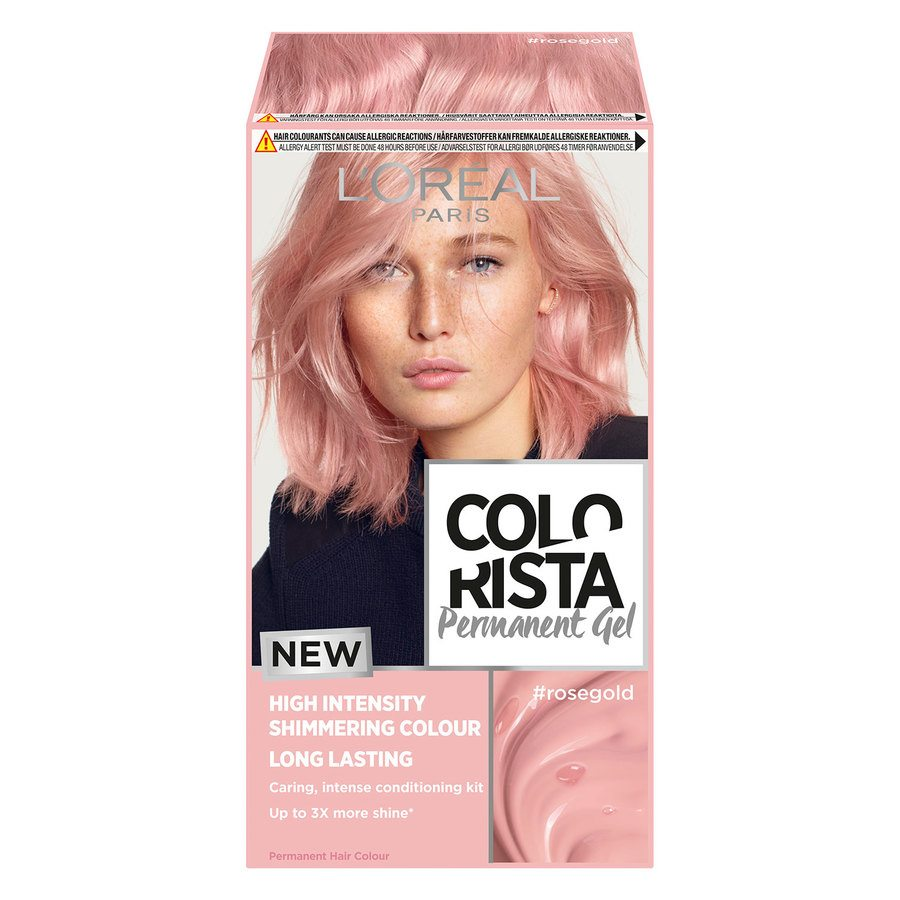 L'Oréal Paris Colorista Permanent Gel ─ Rosegold