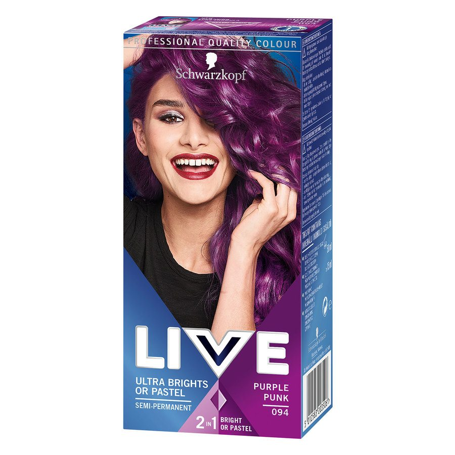 Schwarzkopf Live Ultra Bright – 94 Purple