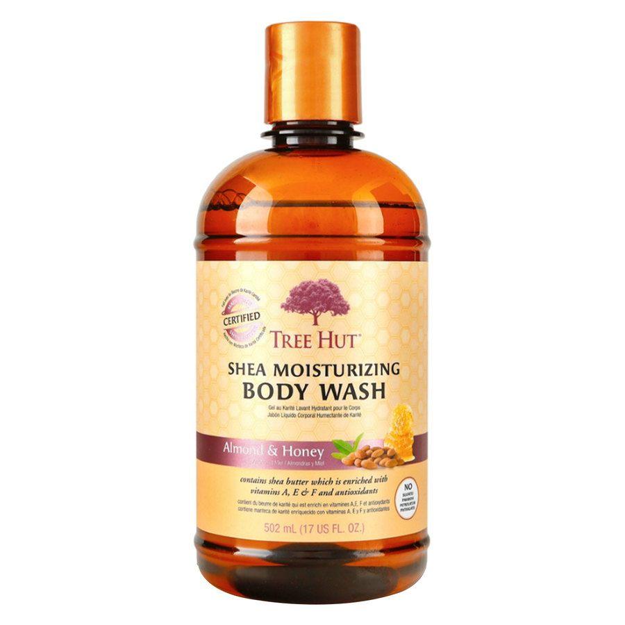 Tree Hut Shea Moisturizing Body Wash 503 ml ─ Almond & Honey