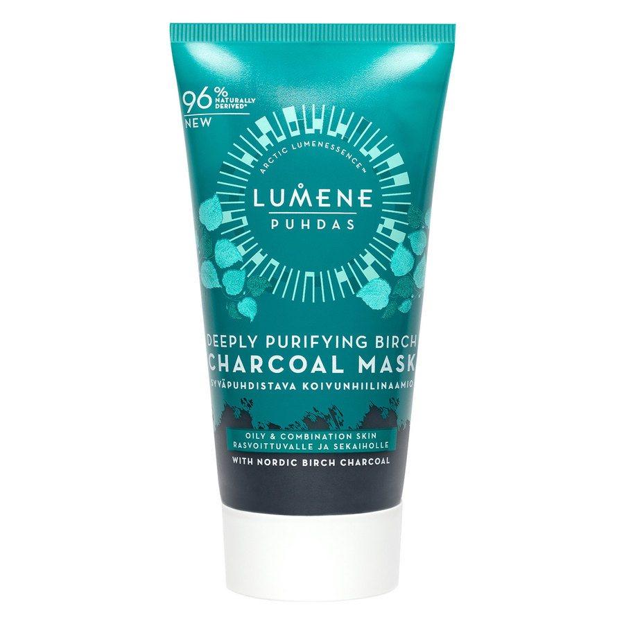 Lumene Puhdas Deeply Purifying Birch Charcoal Mask 75 ml