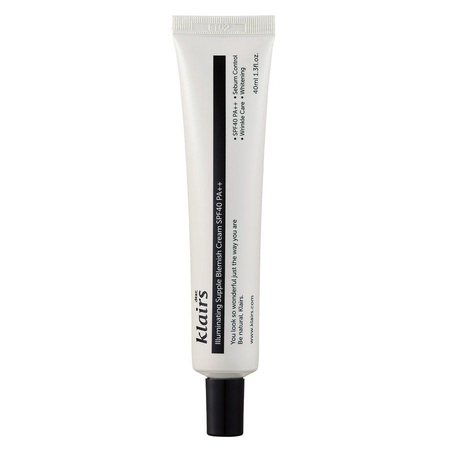 Klairs Illuminating Supple Blemish Cream SPF 40 40 ml