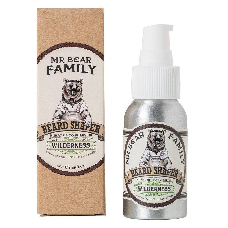 Mr Bear Family Beard Shaper 50 ml ─ Wilderness