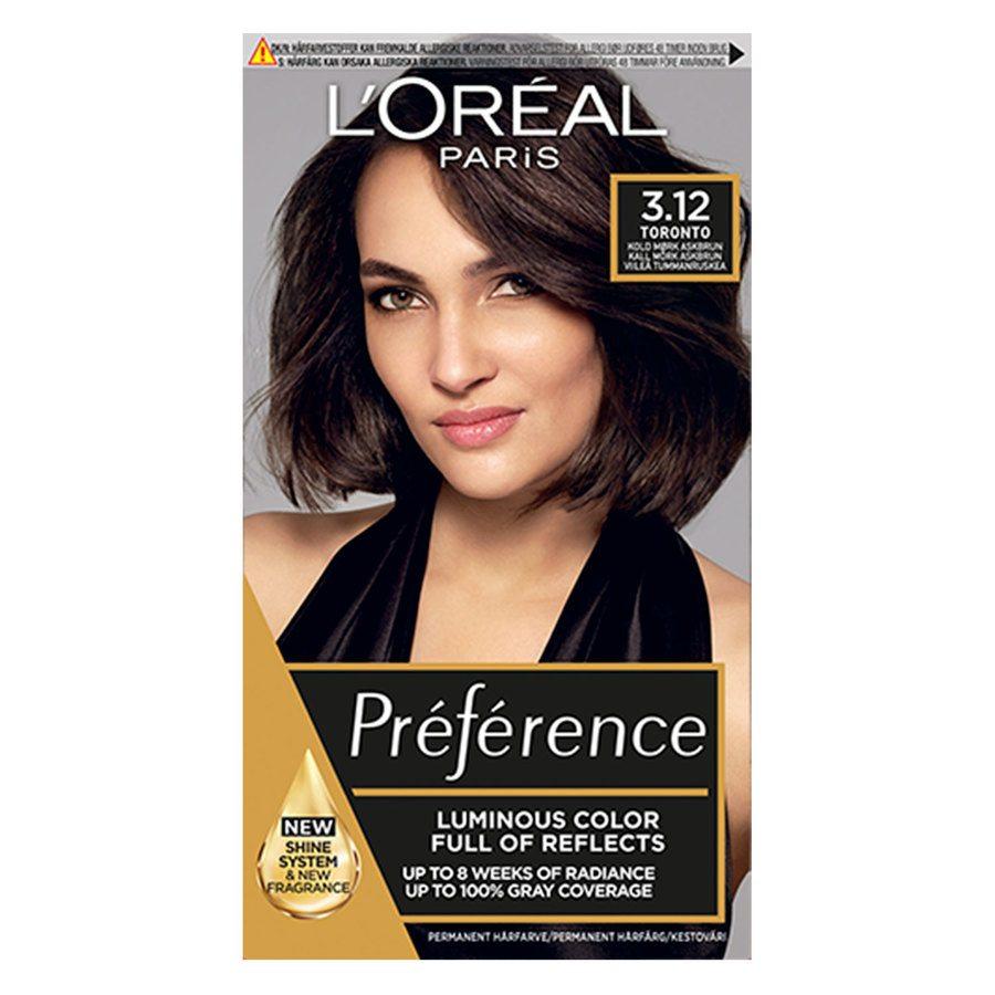 L'Oréal Paris Préférence Core Récital - 3.12