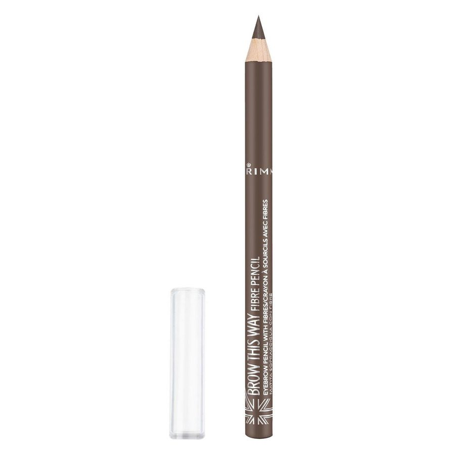 Rimmel London Brow This Way Fibre Pencil 1 g ─ #002 Medium Brown
