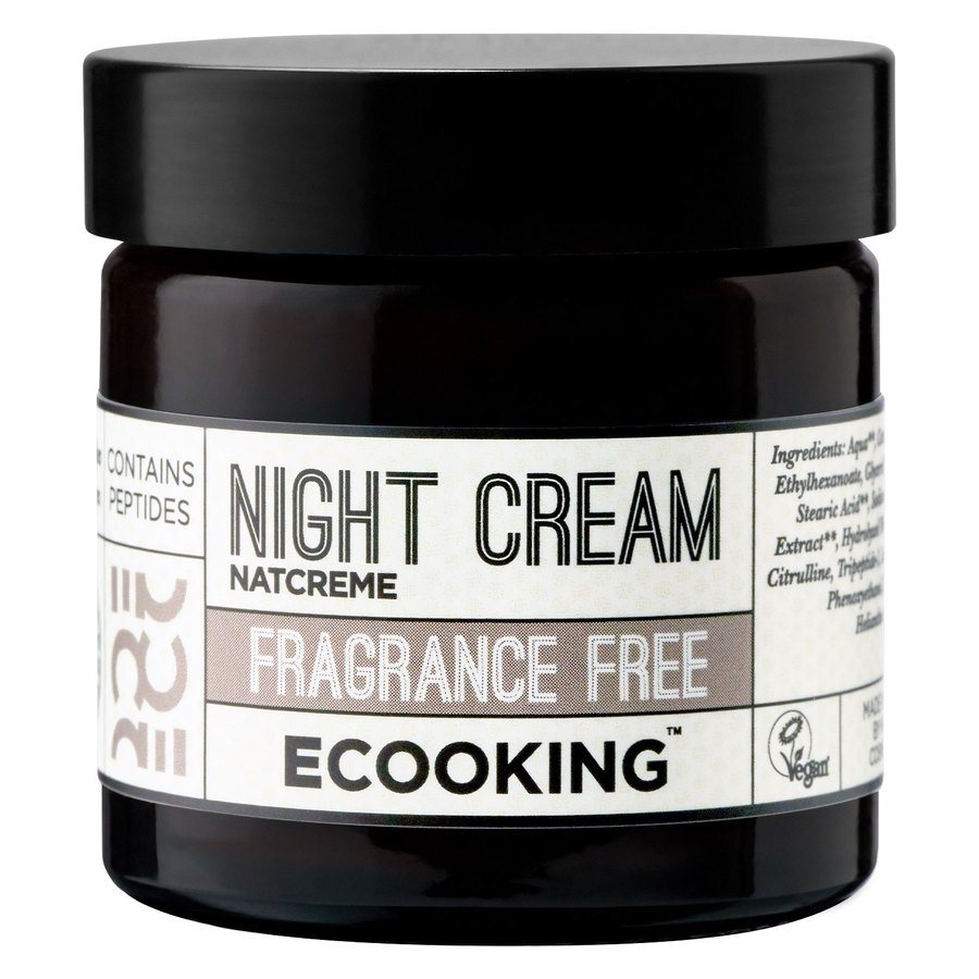 Ecooking Night Cream Fragrance Free 50 ml