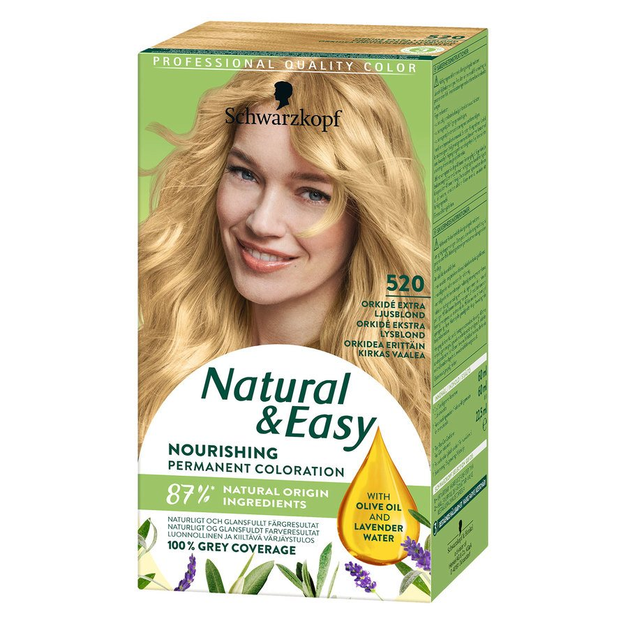 Schwarzkopf Natural & Easy ─ 520 Orchid Extra Light Blonde