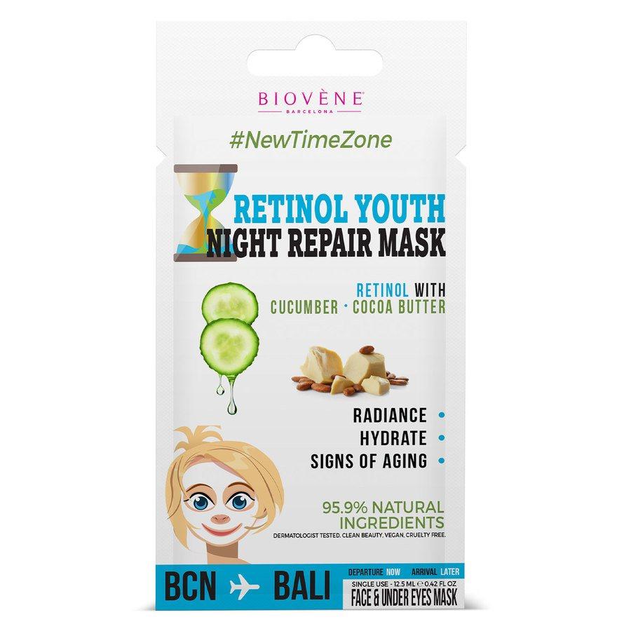 Biovène Retinol Youth Night Cream Mask 12,5 ml