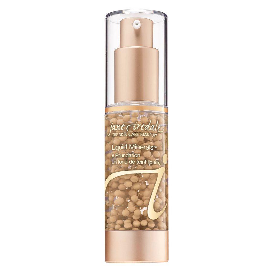Jane Iredale Liquid Minerals Foundation – Golden Glow 30 ml