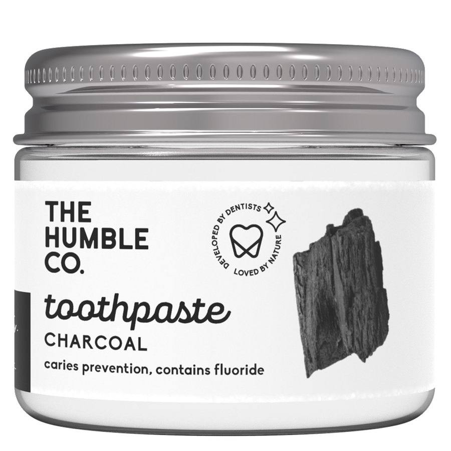 The Humble Co Humble Natural Toothpaste In Jar 50 ml – Charcoal