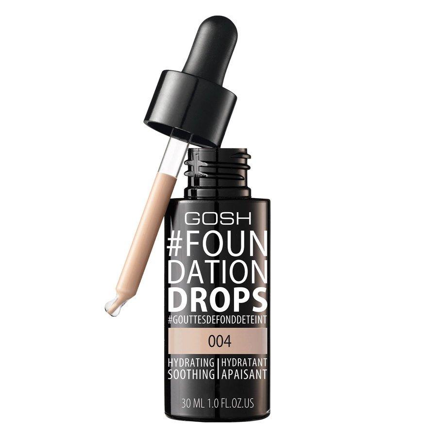 GOSH Foundation Drops 30 ml ─ #004 Natural