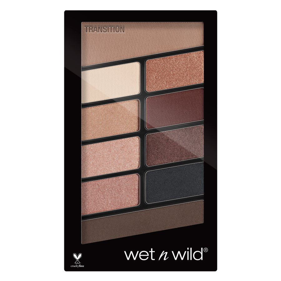 Wet'n Wild Color Icon Eyeshadow 10 Pan Palette, Nude Awakening 10g