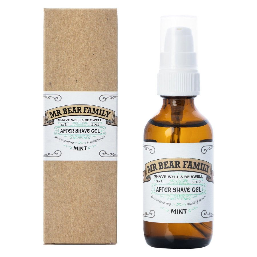 Mr Bear Family After Shave Gel 60 ml – Mint