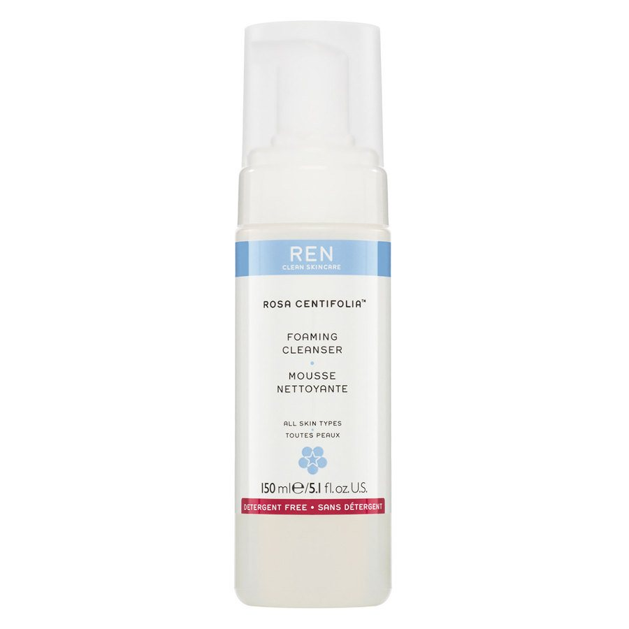 REN Clean Skincare Rosa Centifolia Foaming Cleanser 150 ml