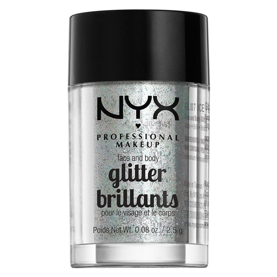NYX Professional Makeup Face & Body Glitter - Ice GLI07