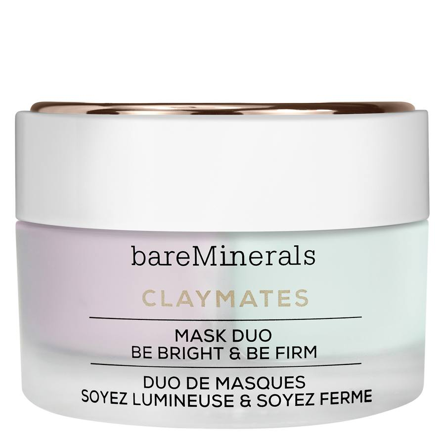 bareMinerals ClayMates Mask Duo: Be Bright & Be Firm 58 g