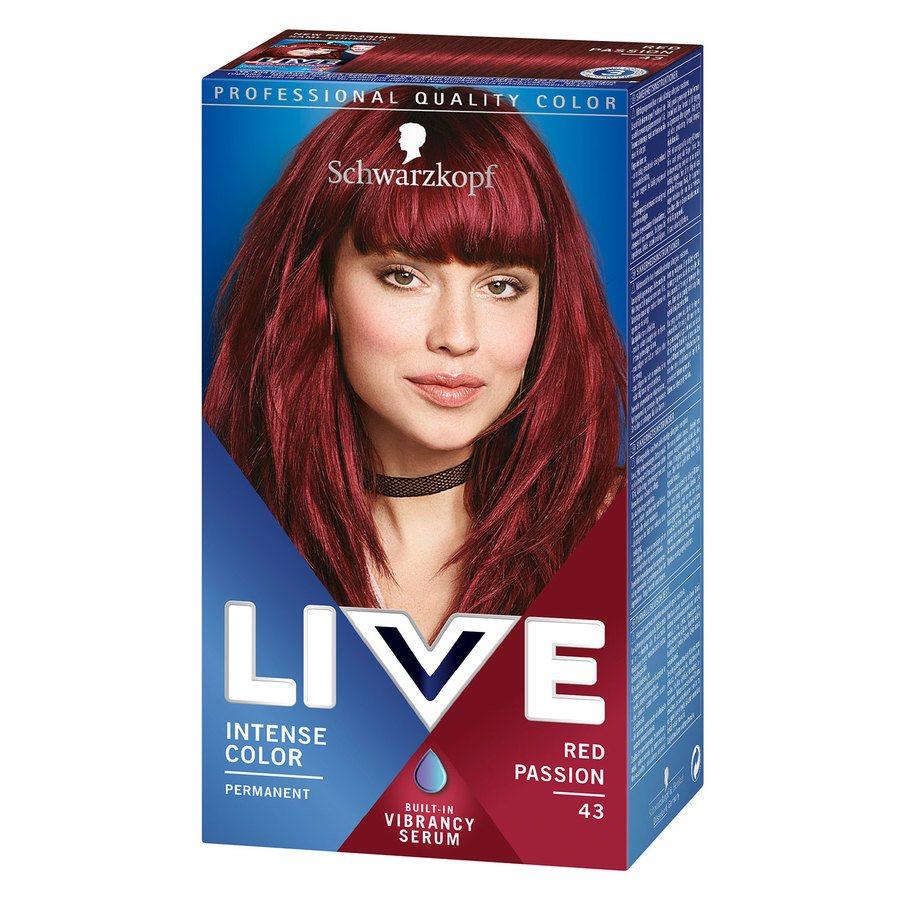 Schwarzkopf Live XXL – 43 Red Passion