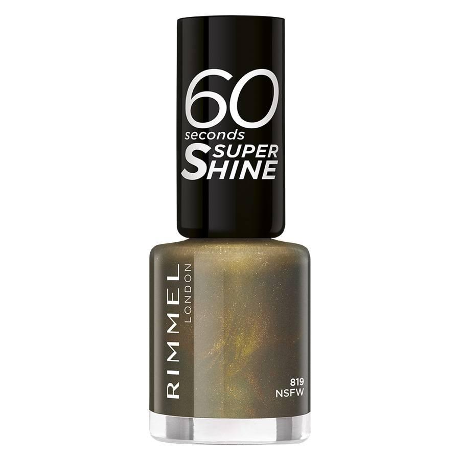 Rimmel London 60 Seconds Super Shine Nail Polish 8 ml – 819