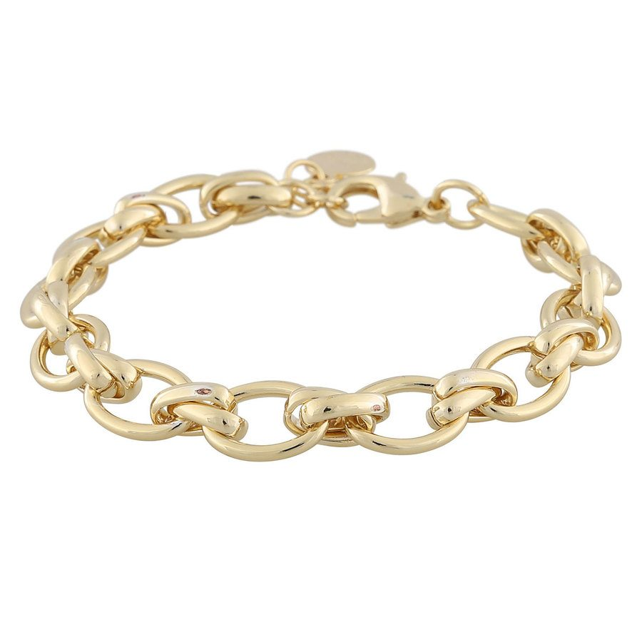 Snö Of Sweden Elma Bracelet ─ Plain Gold