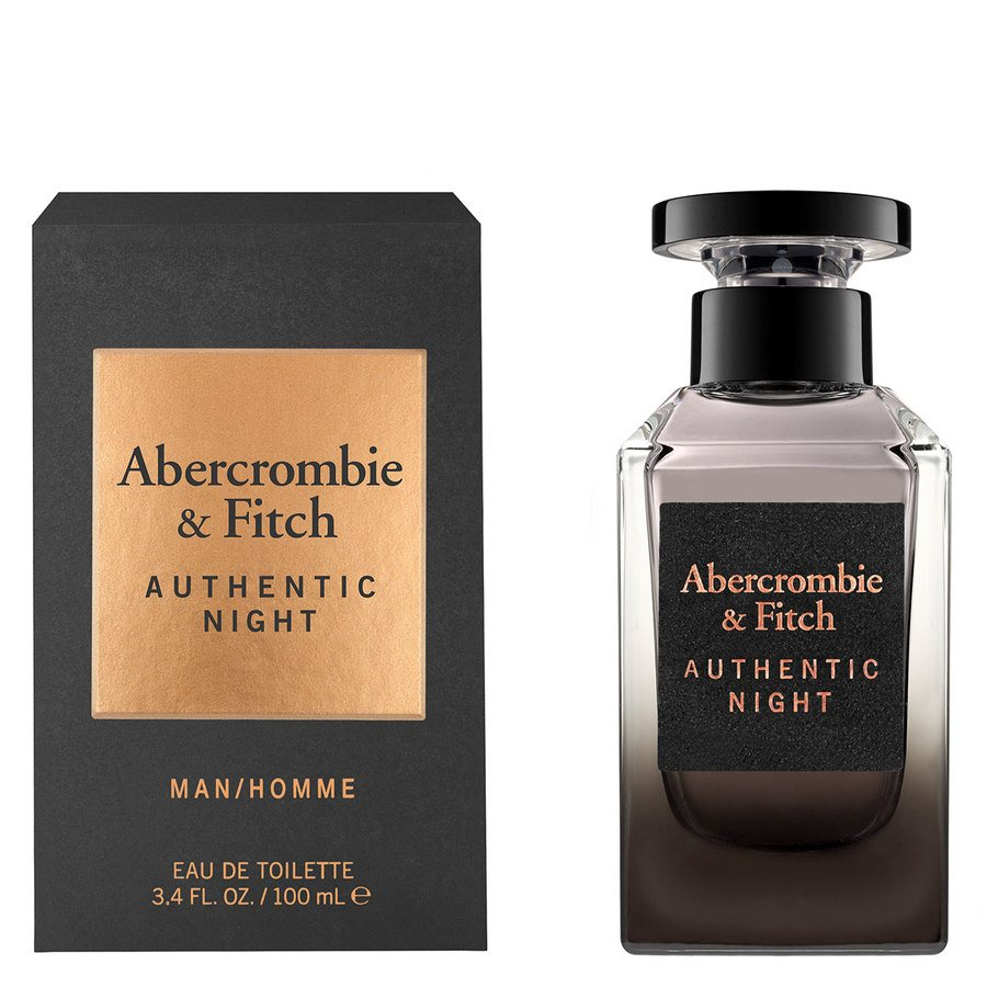 Abercrombie & Fitch Authentic Night Eau De Toilette 100 ml