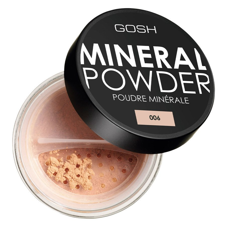 GOSH Mineral Powder 8 g ─ #006 Honey