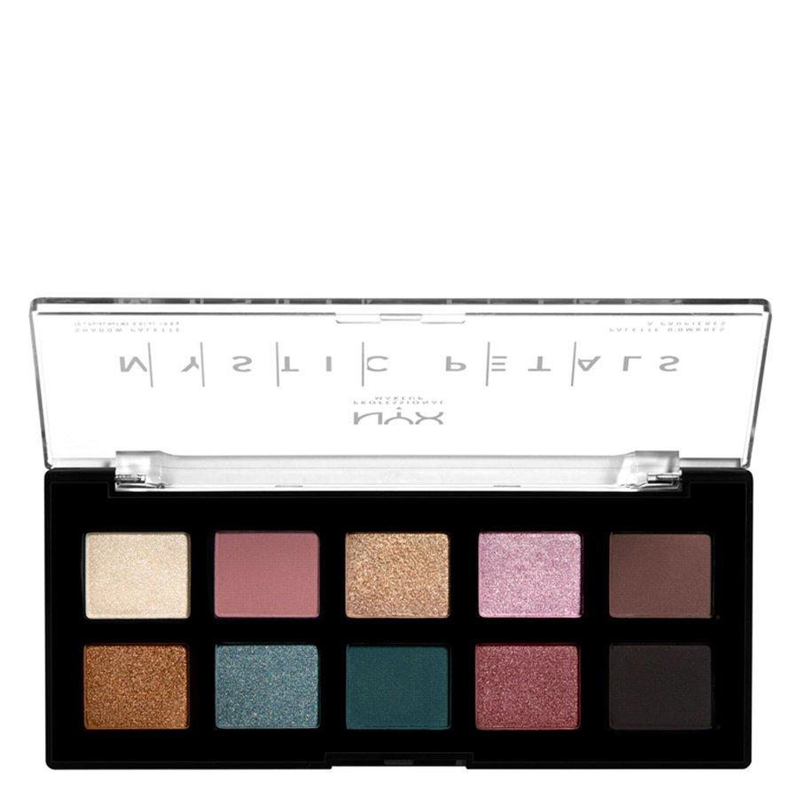 NYX Professional Makeup Mystic Petals Shadow Palette 10 x 0,8 g - Dark Mystic