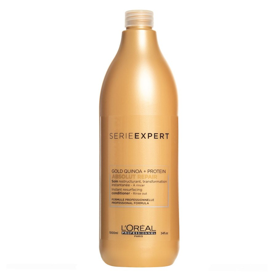 L'Oréal Professionnel Série Expert Gold Quinoa + Protein Absolut Repair Conditioner 1 000 ml
