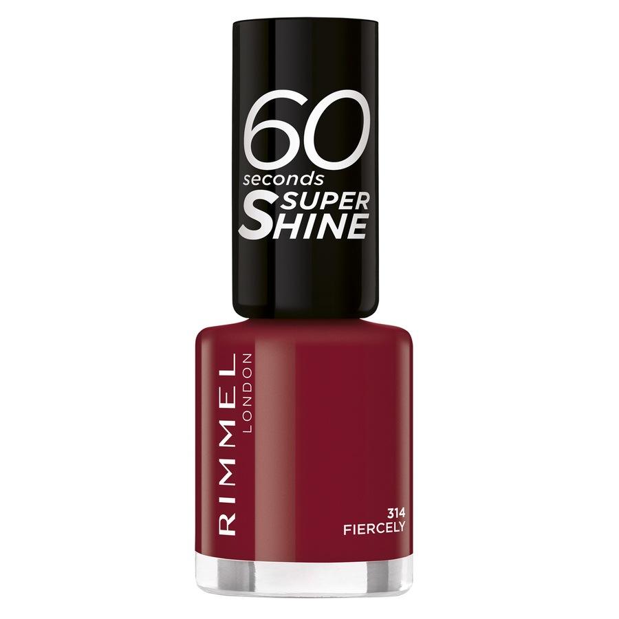 Rimmel London 60 Seconds Super Shine Nail Polish 8 ml – 314
