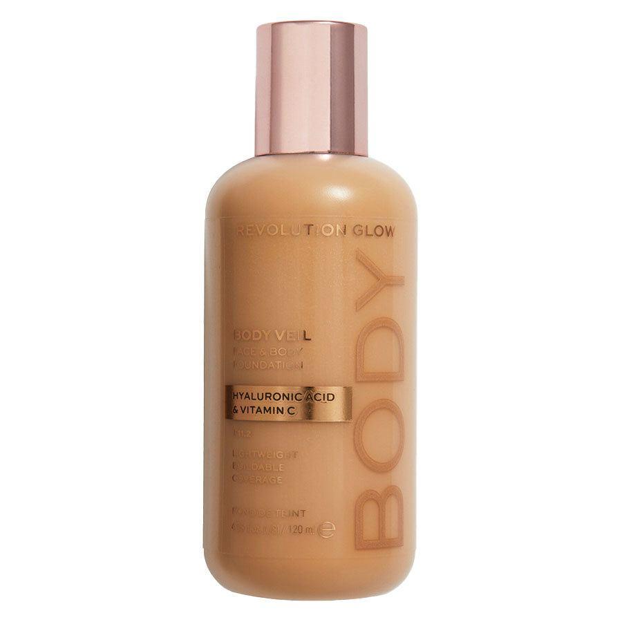 Revolution Beauty Makeup Revolution Revolution Glow Body Veil Foundation 120 ml – F11.2