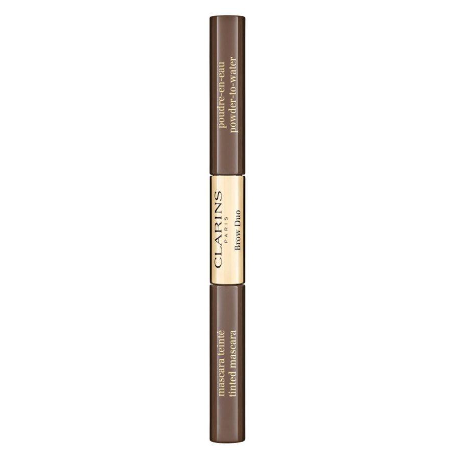 Clarins Brow Duo 2,8 g ─ 04 Medium Brown