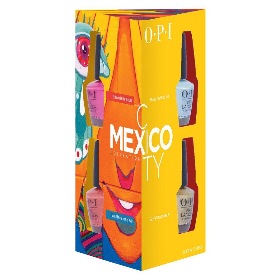 OPI Mexico City Nail Lacquer Mini 4 pcs 4 x 3,75 ml