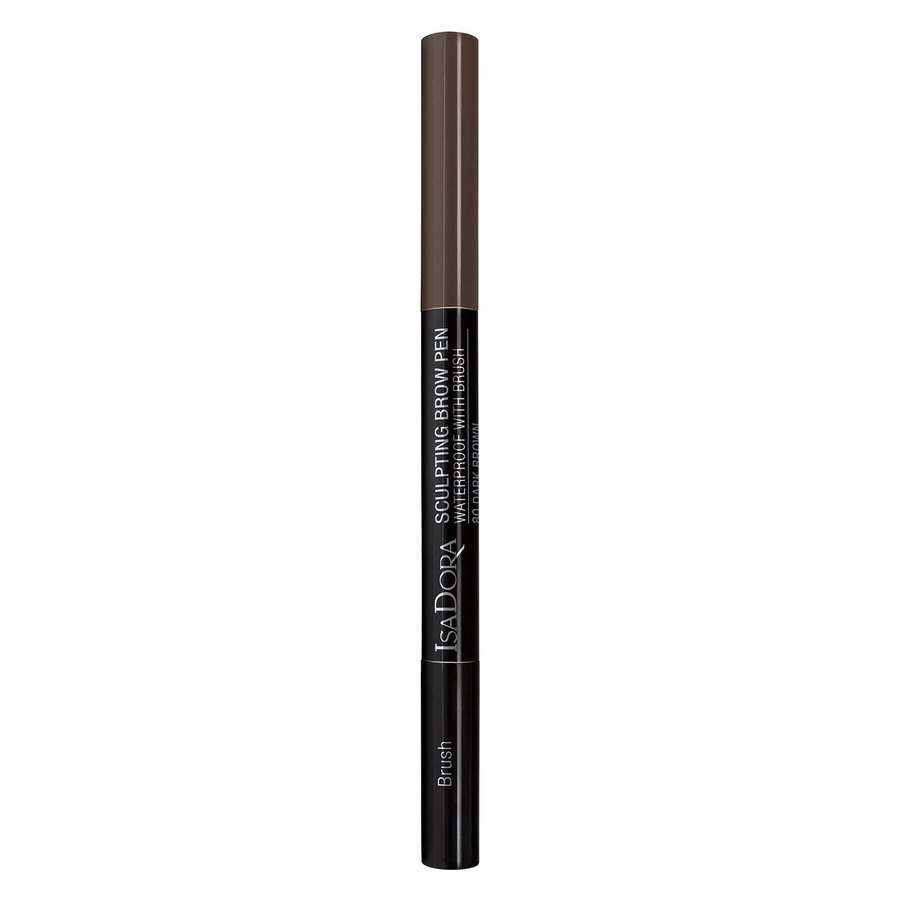 IsaDora Sculpting Brow Pen Waterproof 0,2 g ─ 82 Medium Brown