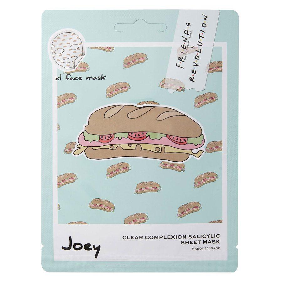 Makeup Revolution X Friends Joey Salicylic Sheet Mask 1 kpl