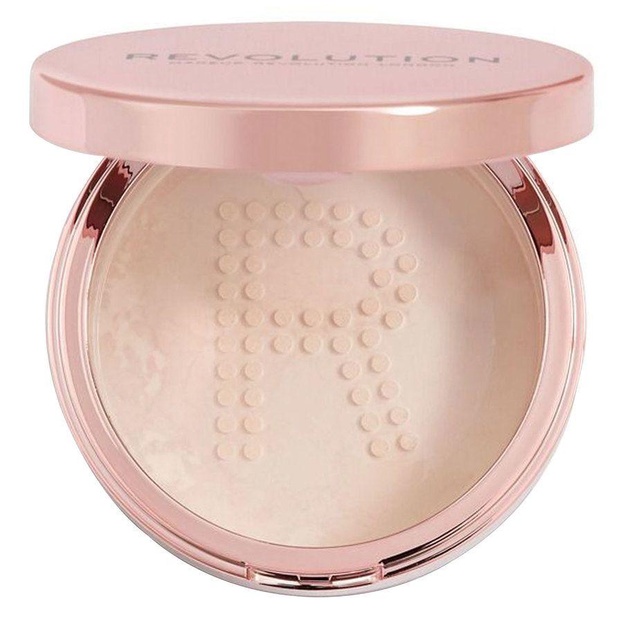 Makeup Revolution Conceal & Fix Setting Powder 13 g - Light Pink