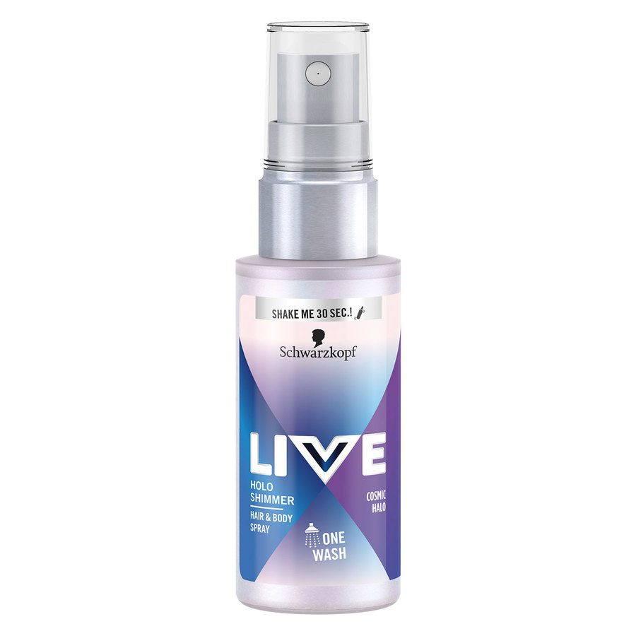 Schwarzkopf Live Holoshimmer Hair & Body Spray 50 ml - Cosmic Halo