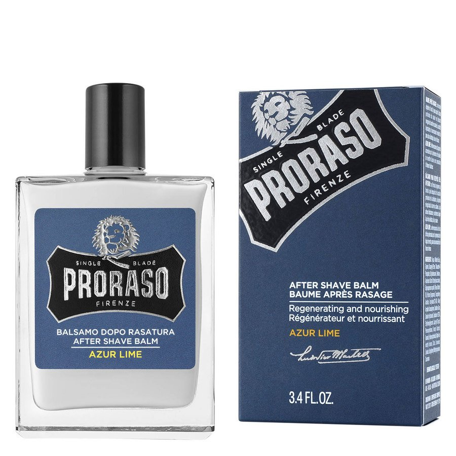 Proraso Single Blade Aftershave Balm 100 ml ─ Azur Lime